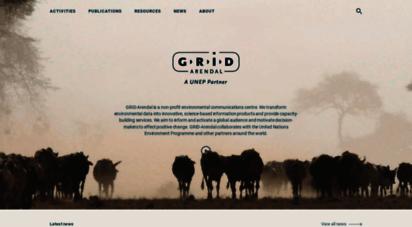 similar web sites like grida.no