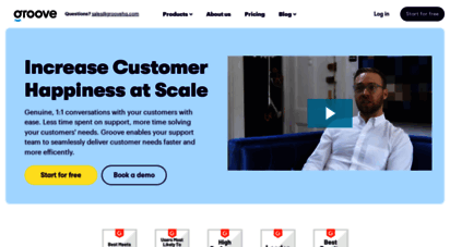 groovehq.com - groove  build better customer experiences with groove