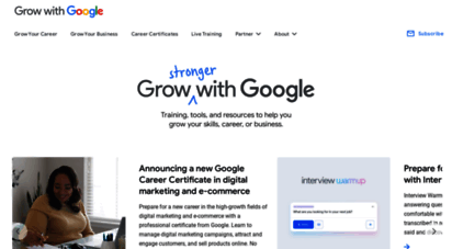 grow.google - grow with google  new skills. new opportunities.