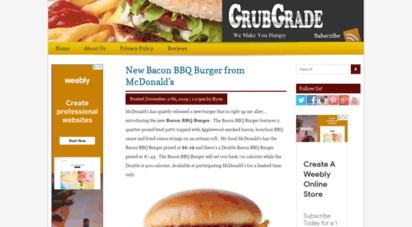 grubgrade.com - grubgradegrubgrade - we make you hungry  we make you hungry