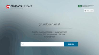grundbuch.or.at - grundbuchauszug aus dem österreichischen grundbuch
