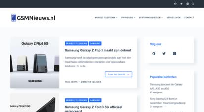 gsmnieuws.nl - gsmnieuws.nl - al het nieuws over mobiele telefonie