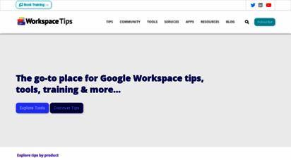 gsuitetips.com - the best source of g suite tips, tricks & tools  g suite tips