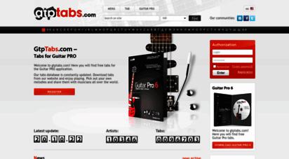 gtptabs.com - gtptabs.com - guitar pro tabs