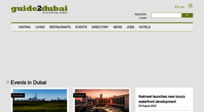 guide2dubai.com - dubai guide - all about visiting and living in dubai uae