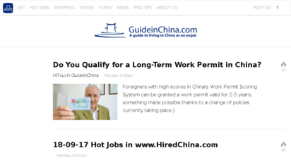 guideinchina.com - guide in china - a fantastic guide to live in china
