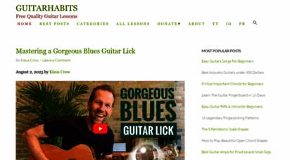 guitarhabits.com -