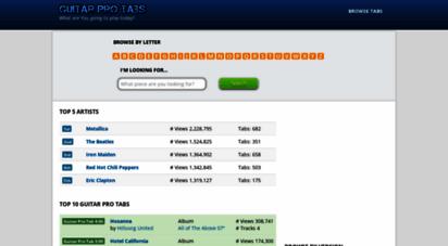 guitarprotabs.net - guitar pro tabs