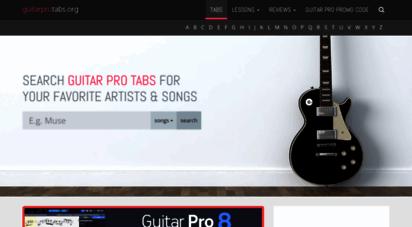 guitarprotabs.org - guitar pro tabs