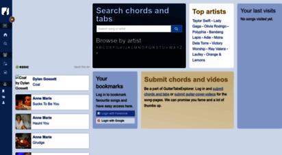 guitartabsexplorer.com