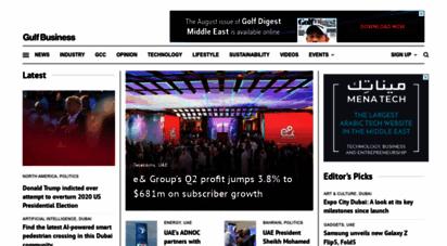 gulfbusiness.com - gulf business - the latest middle eastern & arabian news headlines