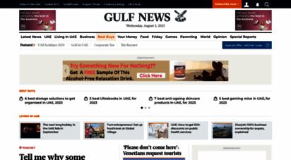 gulfnews.com - gulf news: latest uae news, dubai news, business, travel news, dubai gold rate, prayer time, cinema