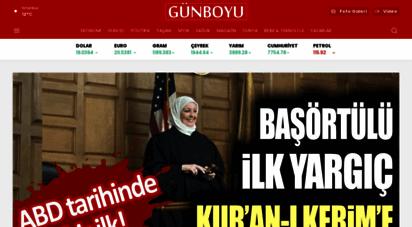 gunboyugazetesi.com.tr - günboyu gazetesi  sondakika haberler
