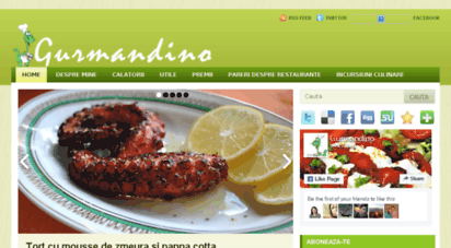 similar web sites like gurmandino.ro