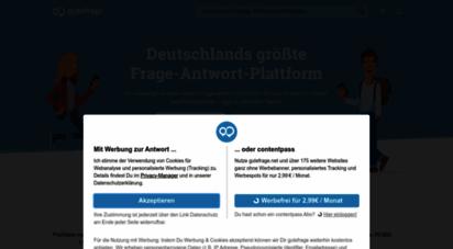 gutefrage.net - gutefrage - die größte deutschsprachige frage-antwort-plattform