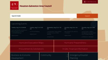 h-gac.com - houston-galveston area council