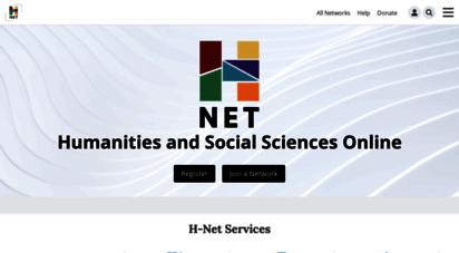 similar web sites like h-net.org