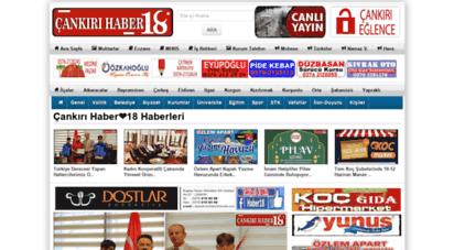 haber18.com - çankırı - haber18  çankiri  cankiri  çankırı