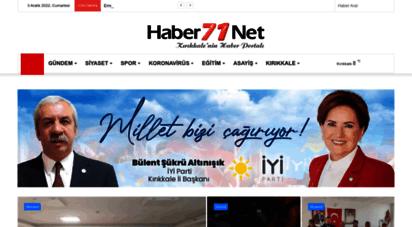haber71.net - haber71.net - kırıkkale haber, son dakika kırıkkale haberleri
