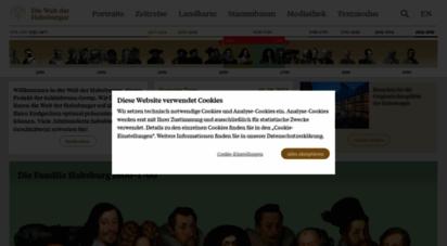 habsburger.net - die welt der habsburger