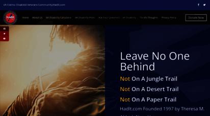 hadit.com - homepage » va disability claims - hadit.com