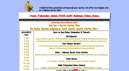 hafizefendi.com - hafizefendi.com - kuran-i kerim