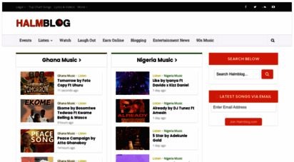 halmblog.com - halmblog.com  download ghana music mp3  music videos