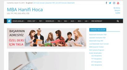 hanifihoca.com - hanifi hoca