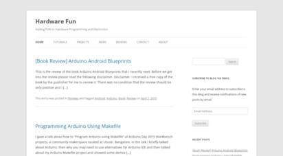 hardwarefun.com - hardware fun  adding fun to hardware programming and electronics