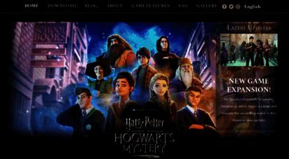 harrypotterhogwartsmystery.com - harry potter: hogwarts mystery