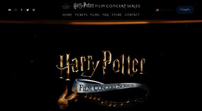 harrypotterinconcert.com - the harry potter™ film concert series