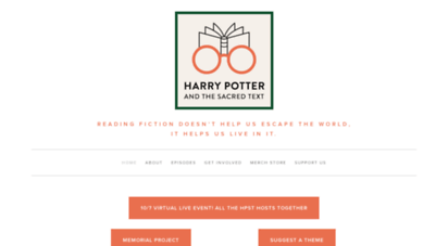 harrypottersacredtext.com - harry potter and the sacred text