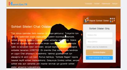 hasret.gen.tr - hasretgen.tr,sohbet,chat,mirc,arkada�lik