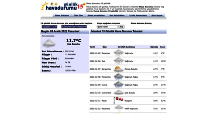 similar web sites like havadurumu15gunluk.net