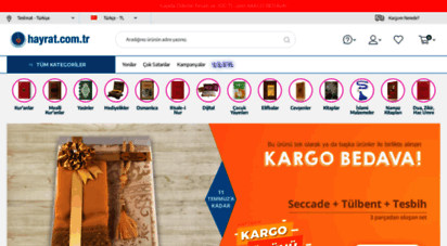 hayrat.com.tr - kur´an-ı kerim satın al, islami ürünler satın al : hayrat neşriyat yayınları