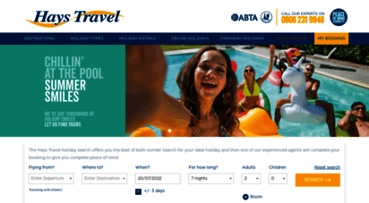 haystravel.co.uk - holidays  uk´s largest independent travel agent  hays travel