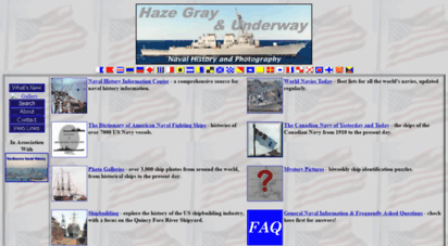 hazegray.org - haze gray & underway - naval history and photography