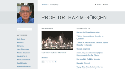 hazimgokcen.net - prof. dr. hazım gökçen
