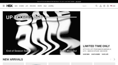 hbx.com - hbx - globally curated fashion and lifestyle by hypebeast