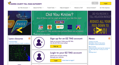 hctra.org - hctra — harris county toll road authority