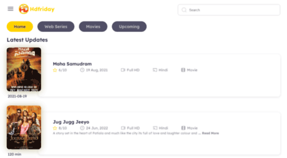 hdfriday.com - hdfriday provide free latest bollywood, punjabi, hollywood movies and tv serial hdfriday