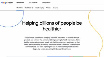 health.google - google health