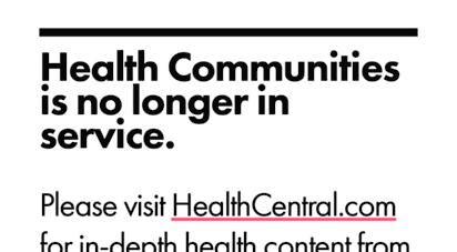 healthcommunities.com - health communities is no longer in service.