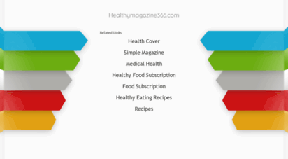 welcome to healthymagazine365 com healthy magazine