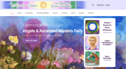 heartscenter.org - the hearts center spiritual community & ascended  teachings