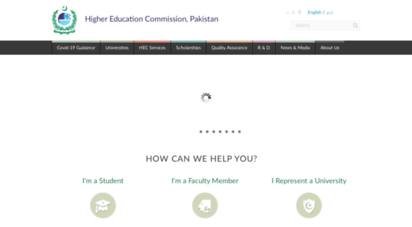 hec.gov.pk - higher education commission