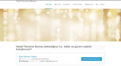 hedeftercume.com - hedef tercüme bürosu  tercüme ve tercümanlık hizmetleri