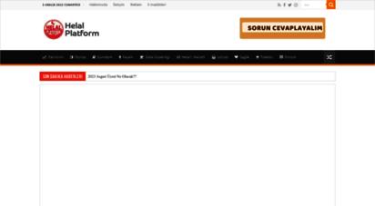 helalplatform.com - ana sayfa