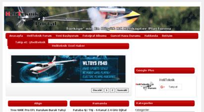 heliteknik.com - heliteknik portal -türkiye´ nin en büyük model helikopter platformu