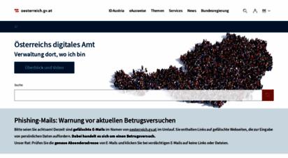 help.gv.at - help.gv.at: ihr wegweiser durch die ämter und behörden in österreich